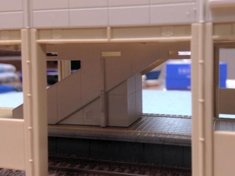 ホーム階段の改造
