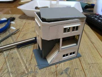 横丁の建物:雑居ビル