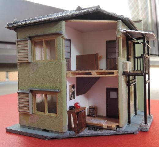 横丁の建物:住居兼店舗(2)
