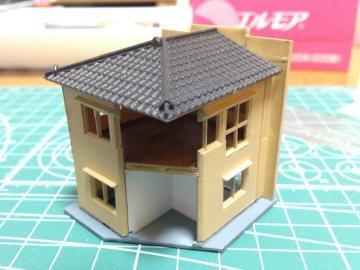 横丁の建物:住居兼店舗